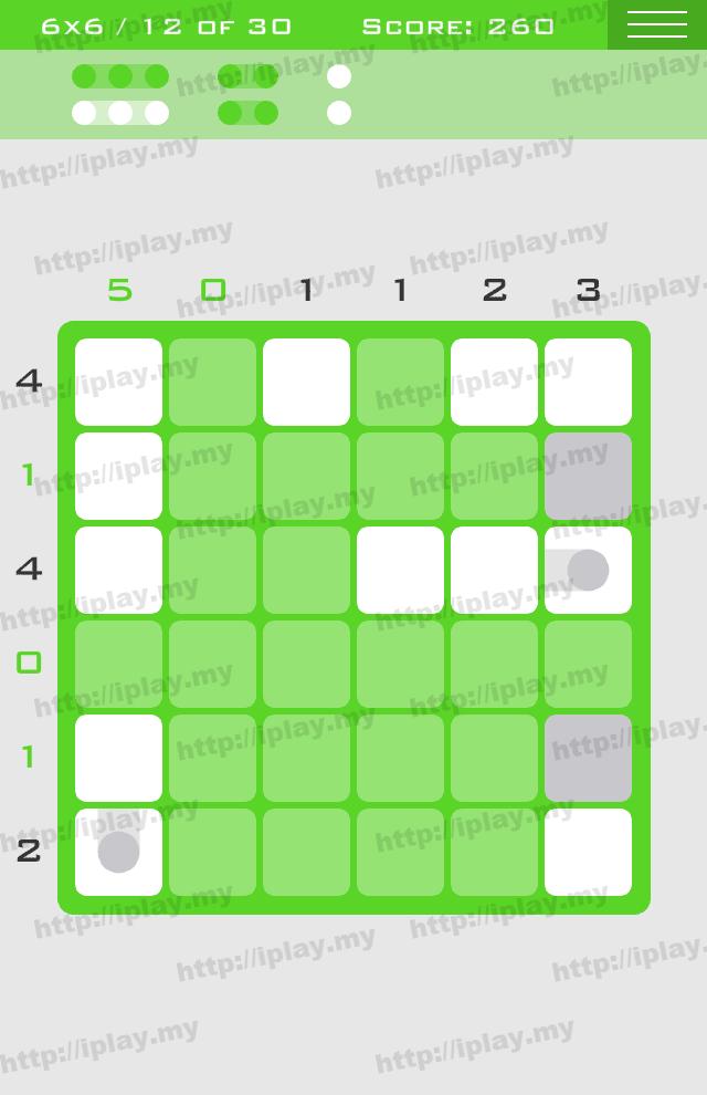 Logic Dots 6x6 - 12