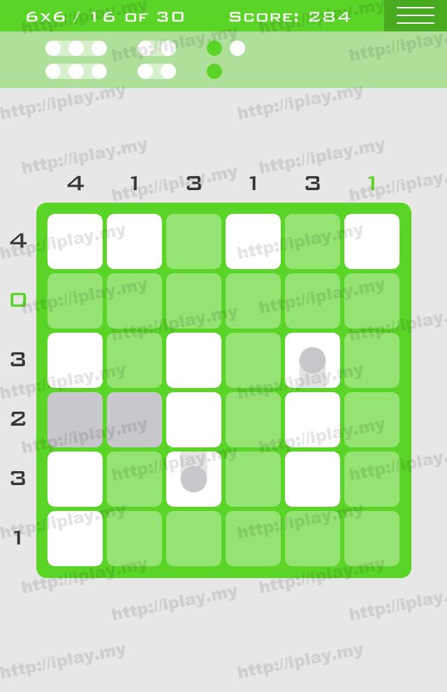 Logic Dots 6x6 - 16