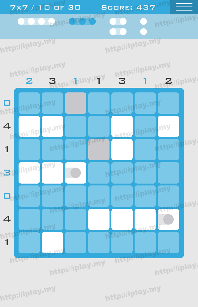 Logic Dots 7x7 - 10