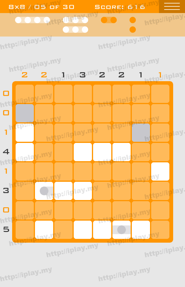 Logic Dots 8x8 - 5