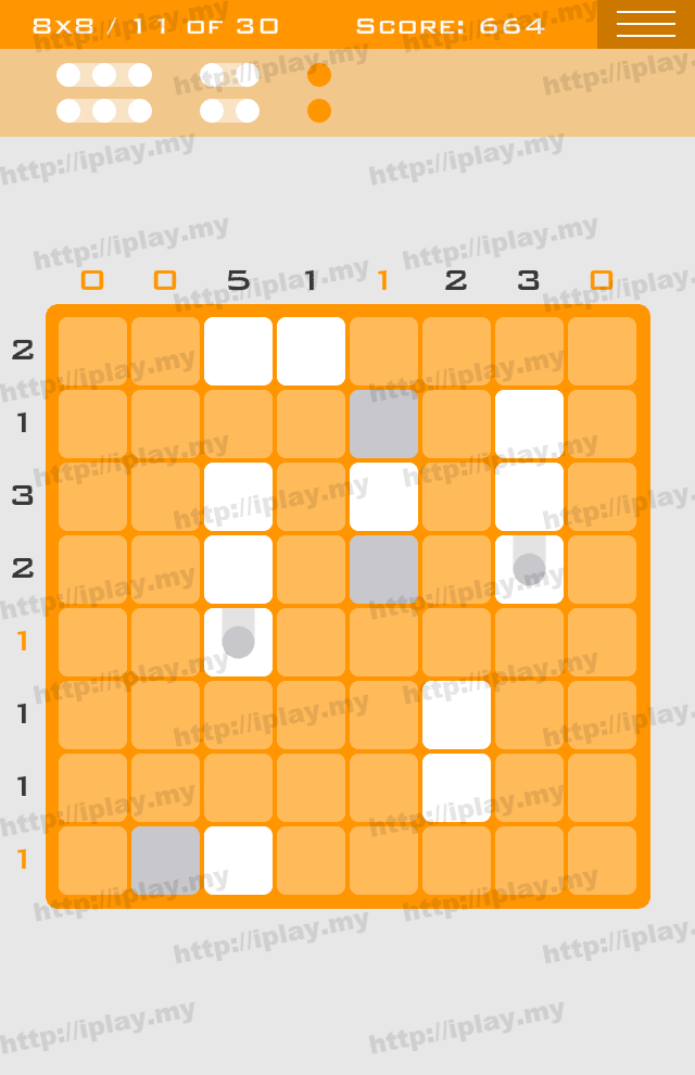 Logic Dots 8x8 - 11