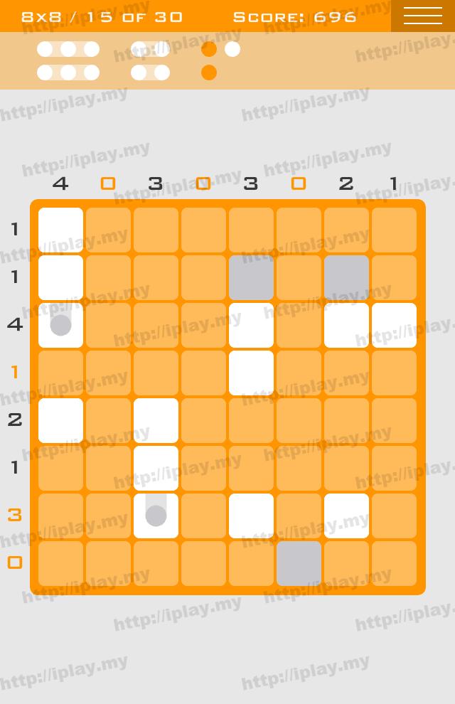 Logic Dots 8x8 - 15
