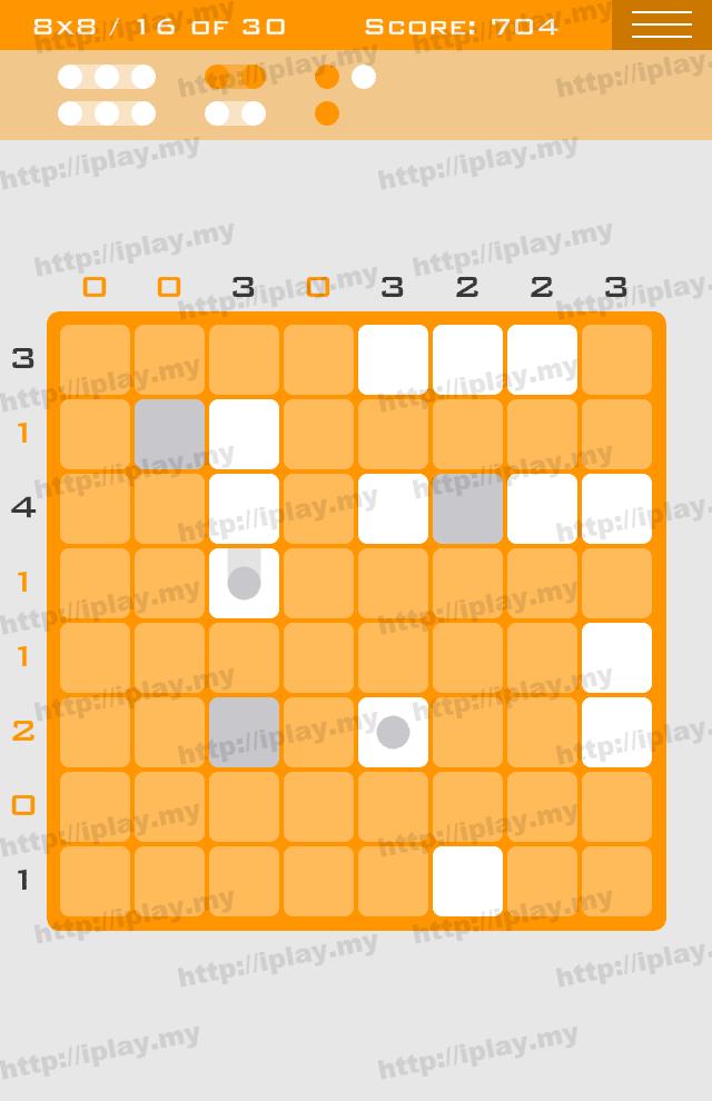 Logic Dots 8x8 - 16