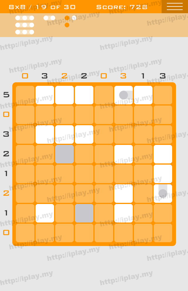 Logic Dots 8x8 - 19