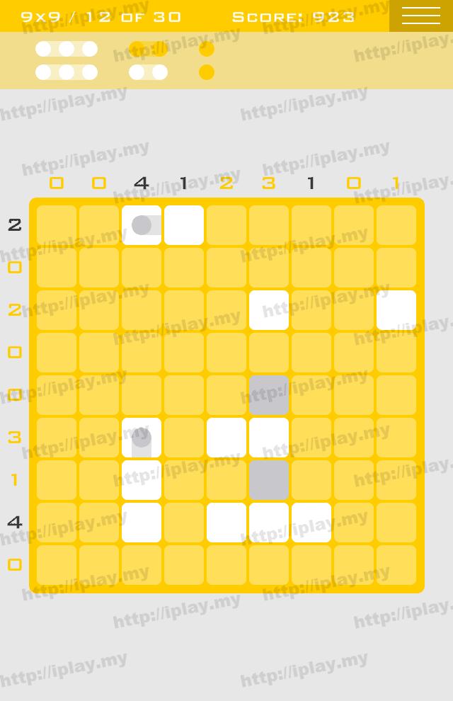 Logic Dots 9x9 - 12