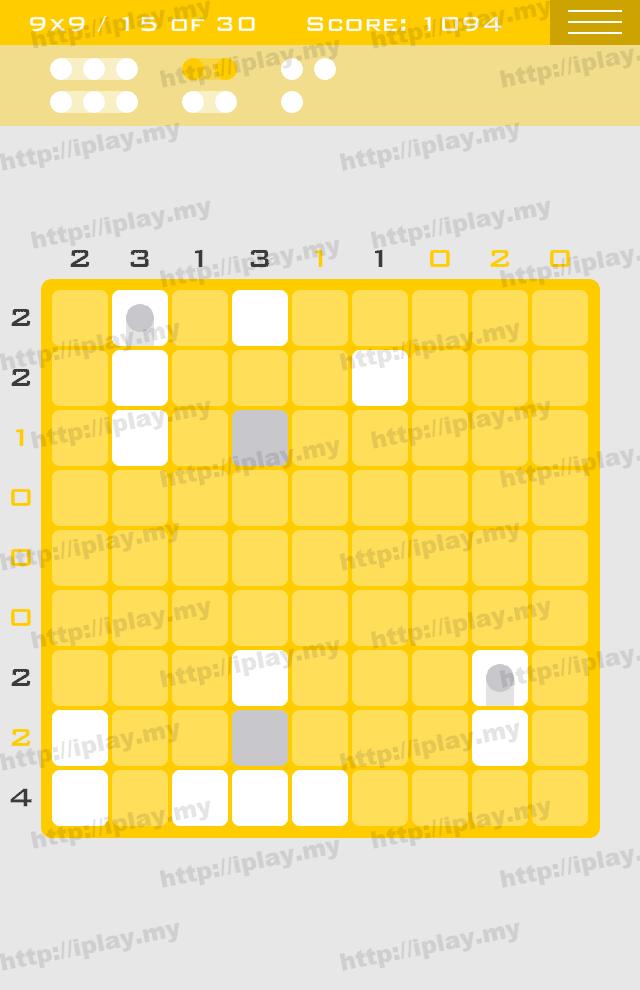 Logic Dots 9x9 - 15