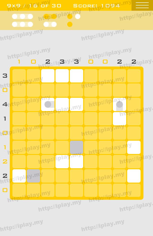Logic Dots 9x9 - 16