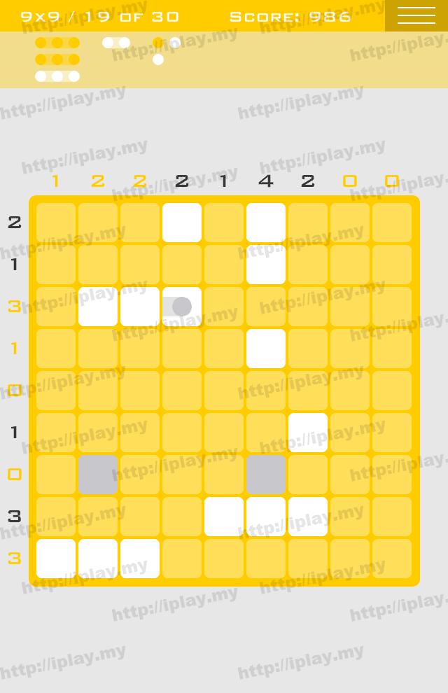 Logic Dots 9x9 - 19