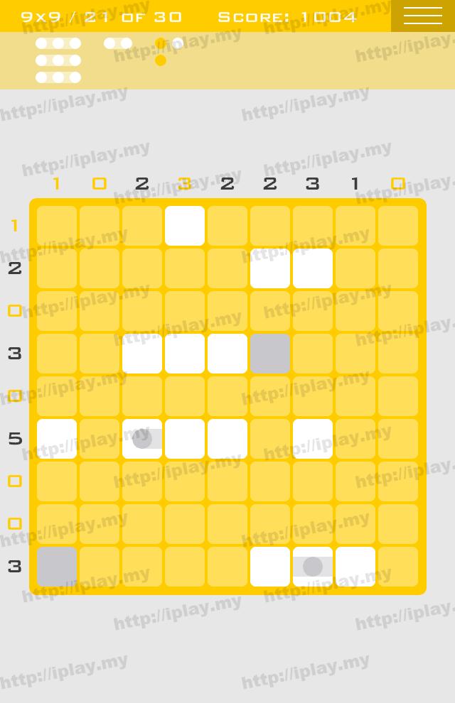 Logic Dots 9x9 - 21