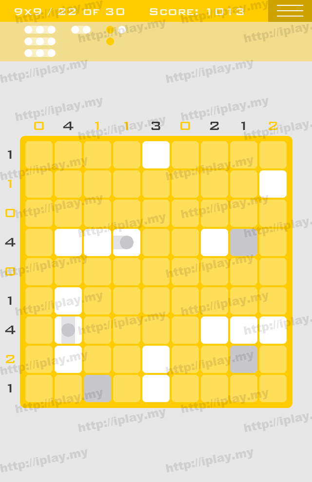 Logic Dots 9x9 - 22