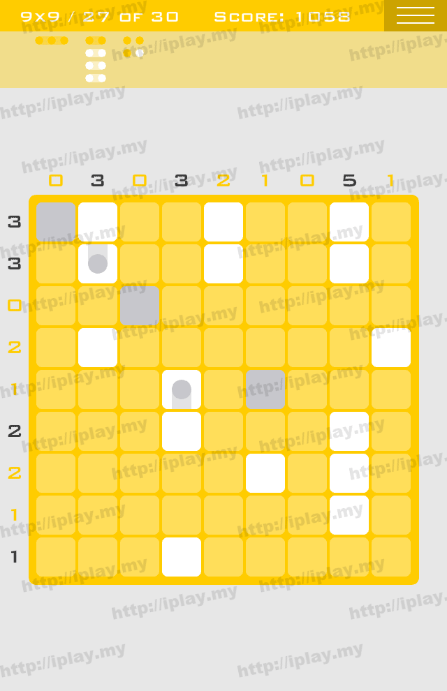 Logic Dots 9x9 - 27