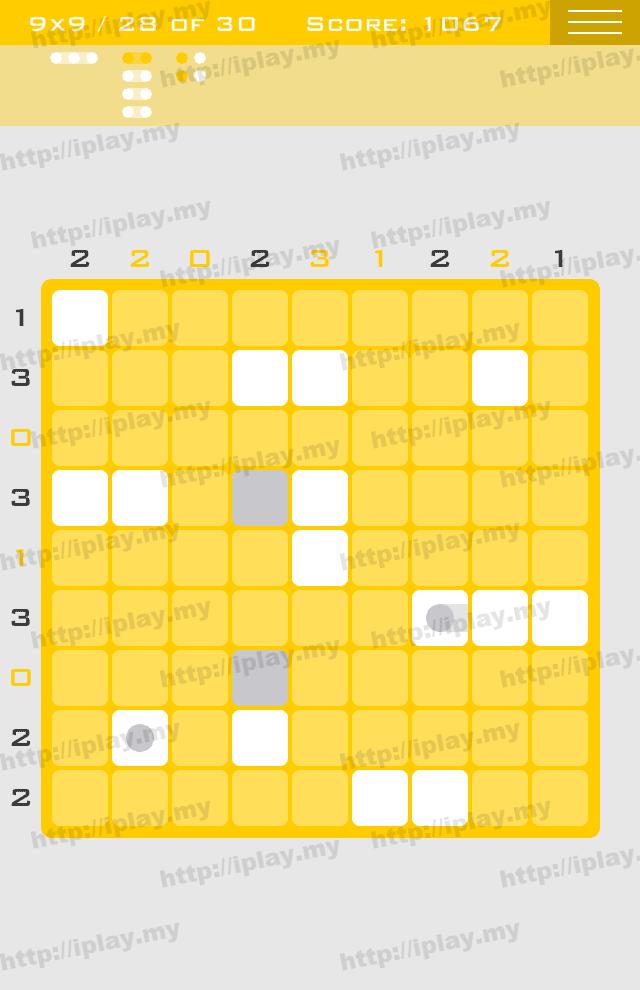 Logic Dots 9x9 - 28