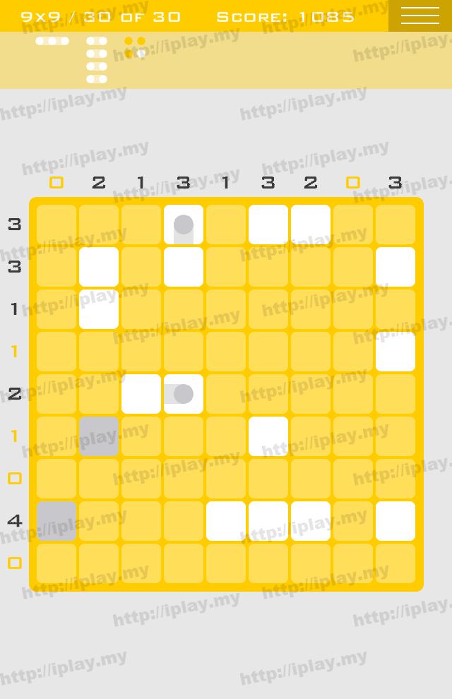 Logic Dots 9x9 - 30