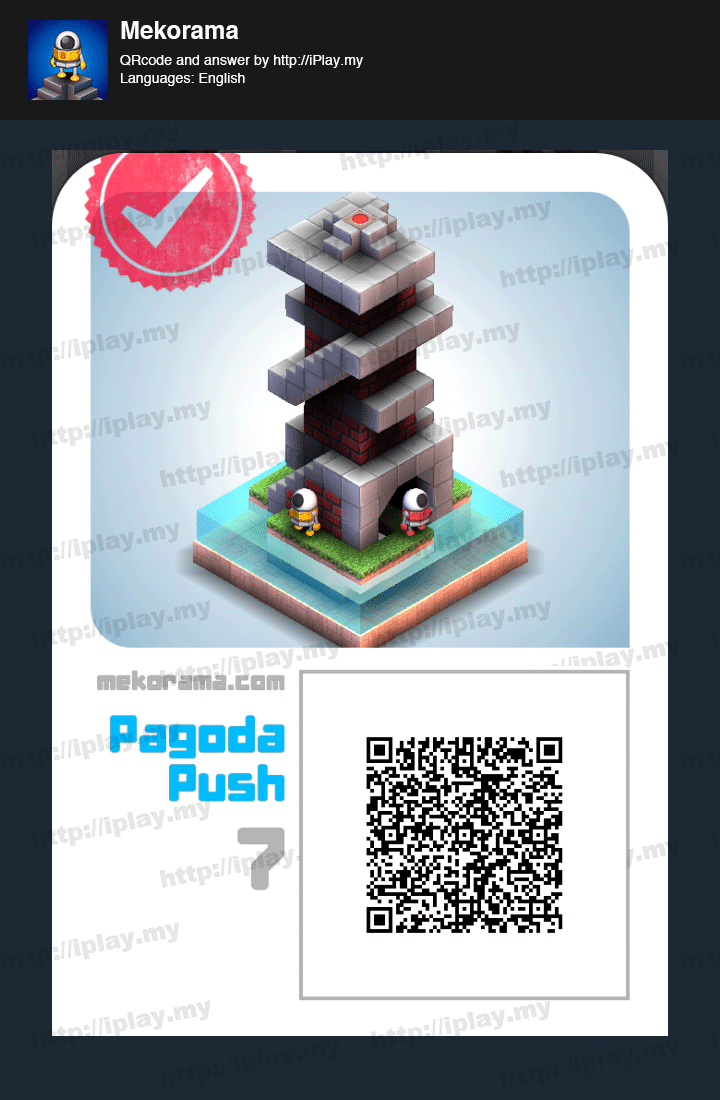 Mekorama All Levels Answers and QR code | iPlay my